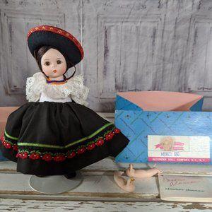 Madame Alexander Mexico 550 doll